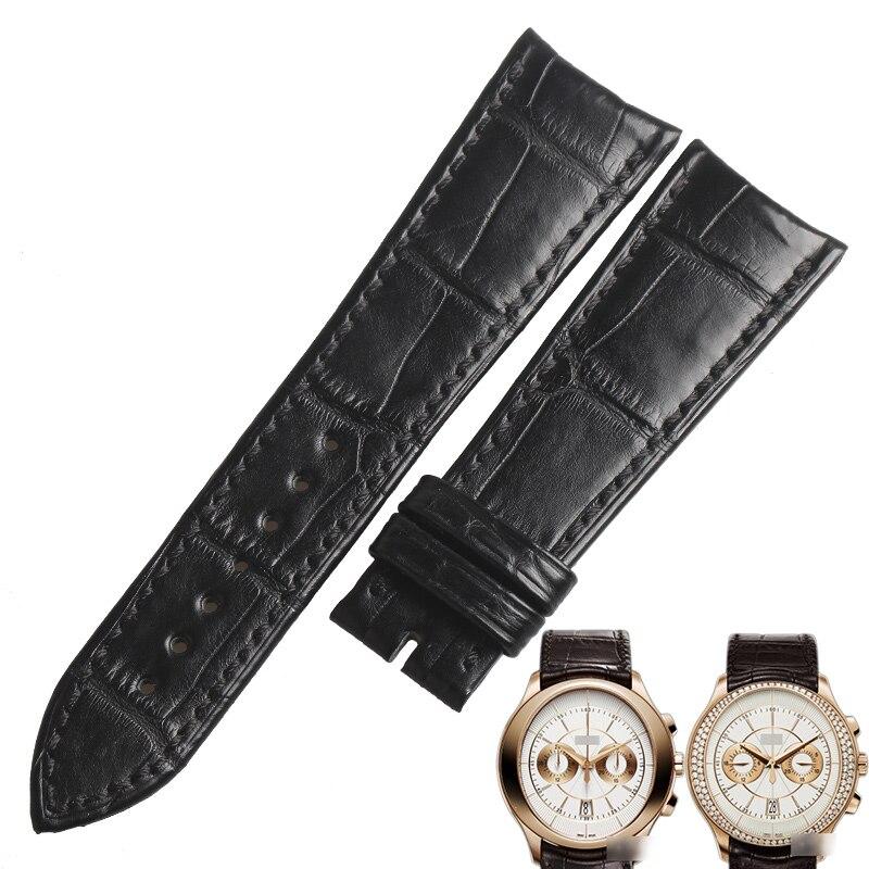 WENTULA watchband for PIAGET G0A34113/G0A33112 alligator skin /crocodile grain watch band