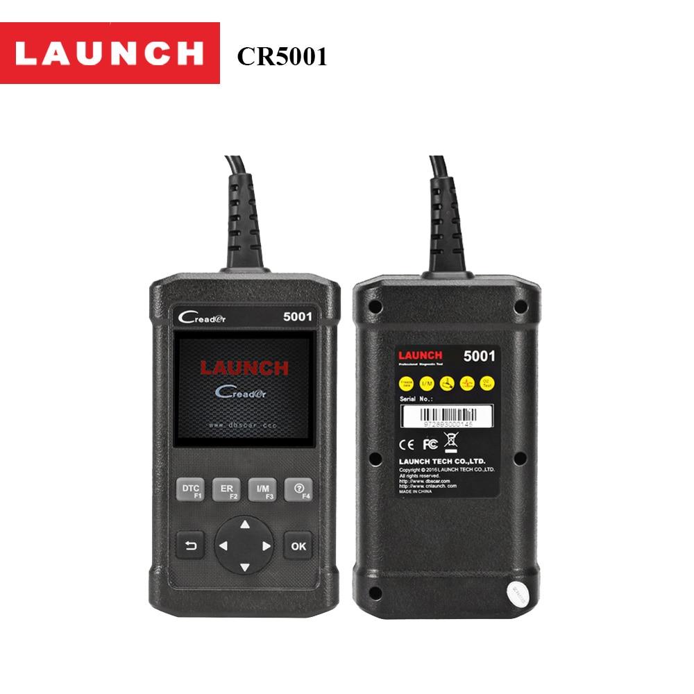 Car DIY Scanner Launch CReader 5001 OBD2 Code Reader Read Vehicle Information Diagnostic Tools for cars same functions as al519