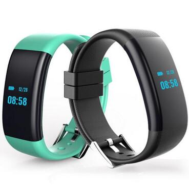 Waterproof IP68 Swimming Smart Band DF30 Smart Wristband Blood Pressure Heart Rate Pulse Monitor Fitness Band