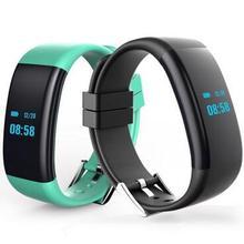 Водонепроницаемый IP68 Одежда заплыва Smart Band DF30 смарт-браслет Приборы для измерения артериального давления пульса Мониторы Фитнес группа для IOS Android
