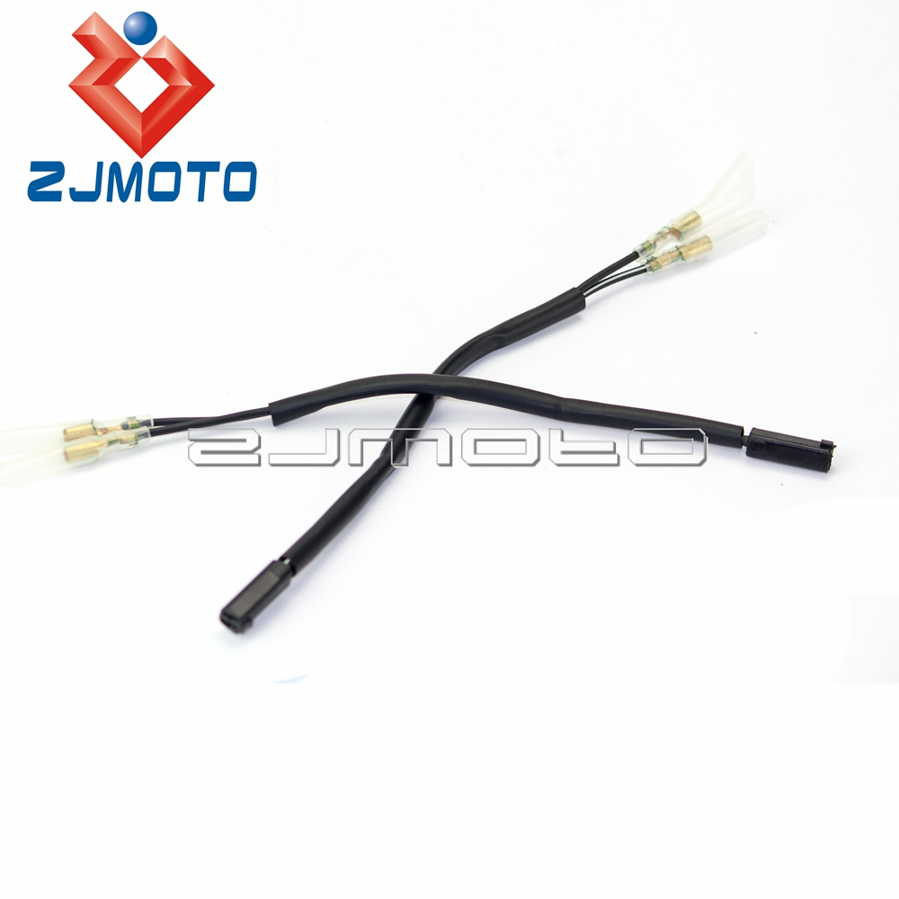 Buy 4 X Motorcycle Oem Turn Signal Wiring Adapter For 99 Suzuki 300 Wire Plug Harness Connectors Gsx1300r Gsxr1300 Hayabusa Gsf Gsx Sfv Sv