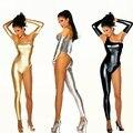 Nueva moda mujeres sexy vestido de una sola pieza sobretodo femenino bailarín del cantante Dj ropa ds baile de disfraces de jazz traje rendimiento desgaste