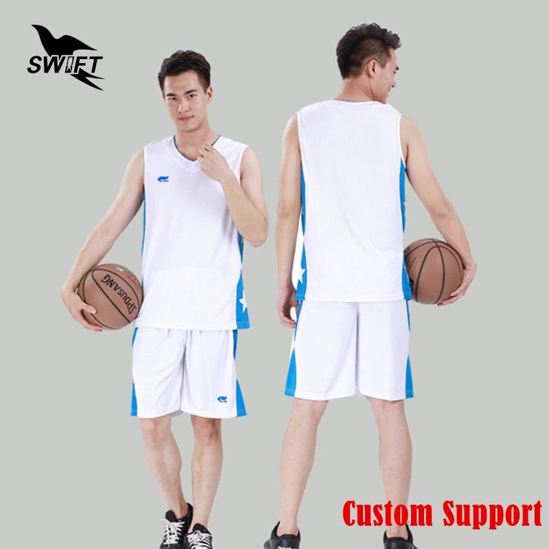 Breathable Mens Sleeveless Basketball Jersey 2016 2017 Cheap Throwback Basketball Shirt Custom Training Uniform Gym Tracksuit
