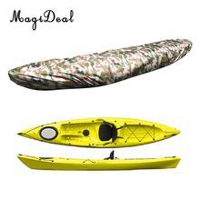 MagiDeal Sıcak Su Geçirmez Kayık Tekne Kano Depolama Taşıma için Toz Kapağı Balıkçılık Şişme Bot Değiştirme Farklı Boyutu / Renk