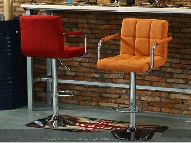 Coffee house rotazione di sollevamento bancone da bar sedia