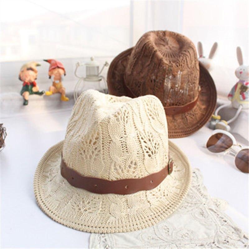 EUA  5.40 2016 Palha De Papel moda Unissex Fedora Trilby Gang...EUA  6.20  chapéus ... 803e9f50f42