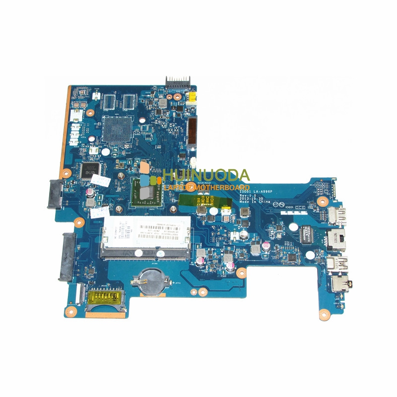 NOKOTION ZS051 LA-A996P 750634-501 750634-001 motherboard for HP 15-G Series laptop main board DDR3 A4-5000 CPU warranty 60 days 815248 501 main board for hp 15 ac 15 ac505tu sr29h laptop motherboard abq52 la c811p uma celeron n3050 cpu 1 6 ghz ddr3