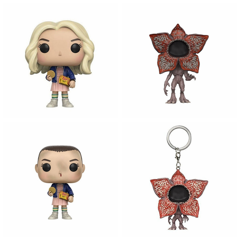 The Stranger Things Eleven With EGGOS Figure Toy Doll stranger shores