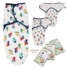 Blanket Swaddle-Wrap Baby-Products Floral Soft Newborn-Baby Sleepsack Infant 100%Cotton