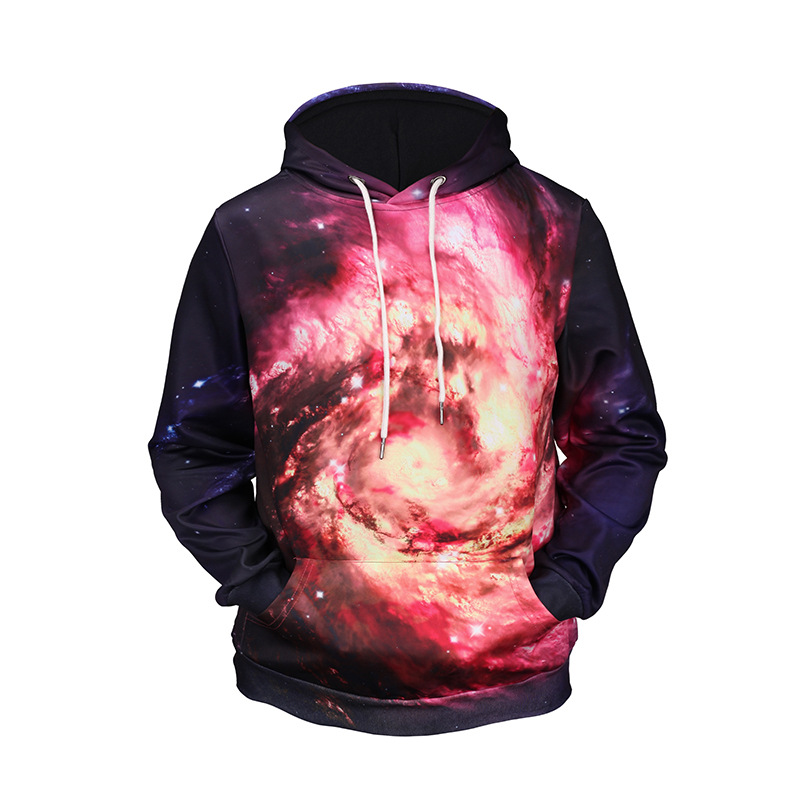 Mr.1991INC hot sale 2018 cosmic starry sky print hoodies men fashion 3D Galaxy pullover men Creativity sweatershirts streetwear