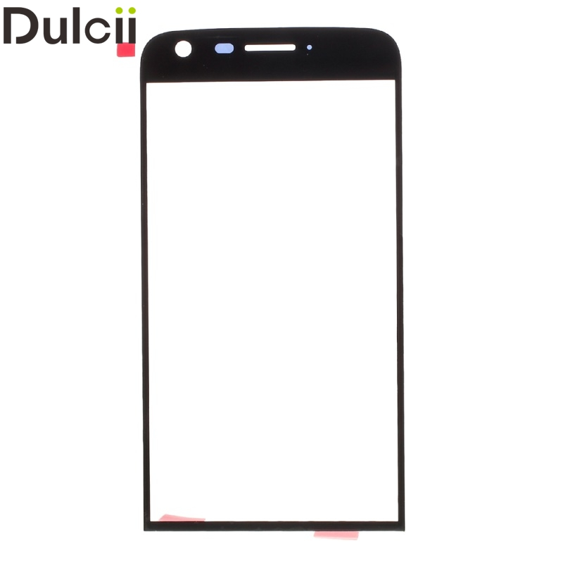 Dulcii Mobile Phone Parts for LG G 5 Replacement Parts OEM Front Screen Glass Lens Replacement Part for LG G5 - Black