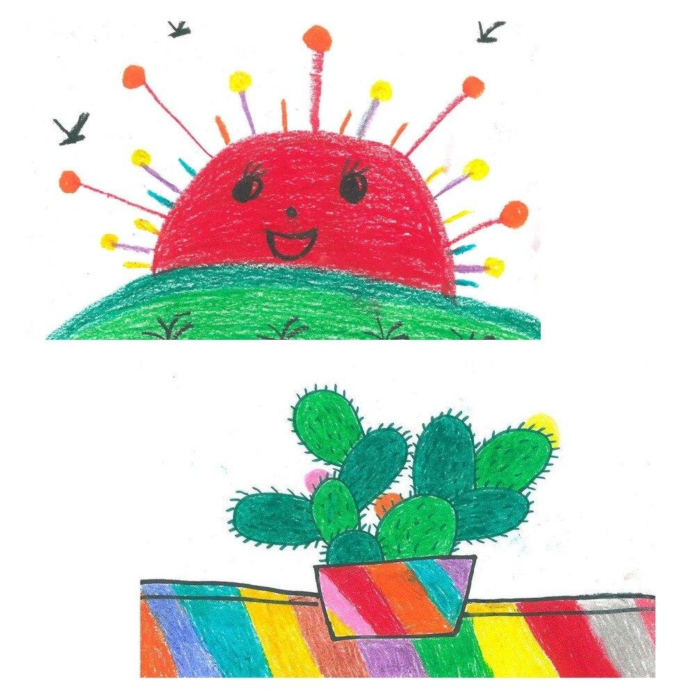 150 pçs crianças lápis colorido pintura marcador
