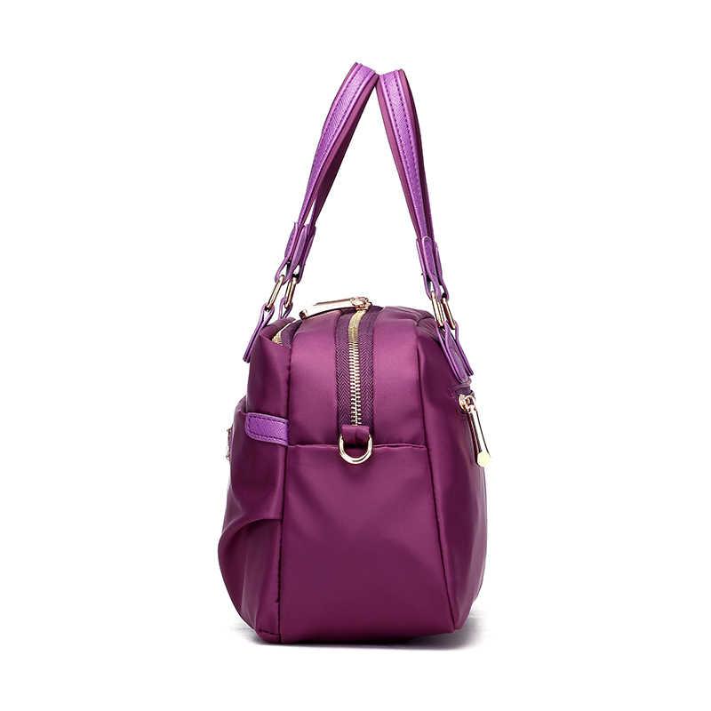 ... KVKY Women Boston bag Waterproof Nylon Handbags Ladies Messenger Bags  Casual Women Crossbody Bag Travel Shoulder ... cc6b917f9bf75