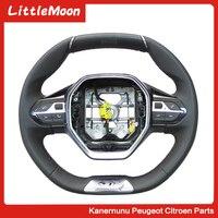 LittleMoon Steering wheel Sport steering wheel GT steering wheel For Peugeot 3008 4008 5008 508