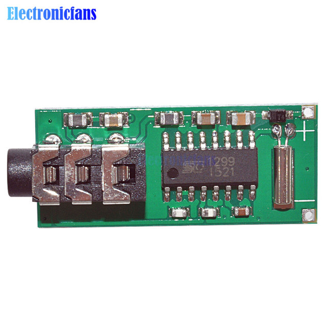 Free Shipping 1.8V-3.6V MCU Digital Frequency Stabilization Stereo FM Radio Receiver Module 70-108Mhz Micrcontroller GS1299