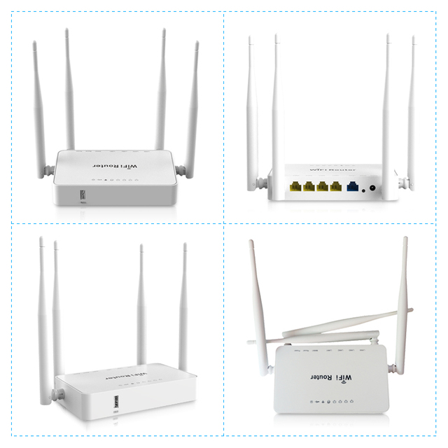 Original WE1626 Wireless WiFi Router For 3G 4G USB Modem With 4 External Antennas 802.11g 300Mbps openWRT/Omni II Access Point 4