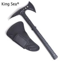 Rey mar táctico hacha Tomahawk del ejército al aire libre caza Camping  supervivencia Machete ejes mano herramienta hacha de hiel. b0059d70995
