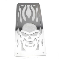 Chrome Stainless Steel Radiator Frame Grill Grille Cover For Honda Steed VLX 600 400 Motorcycle