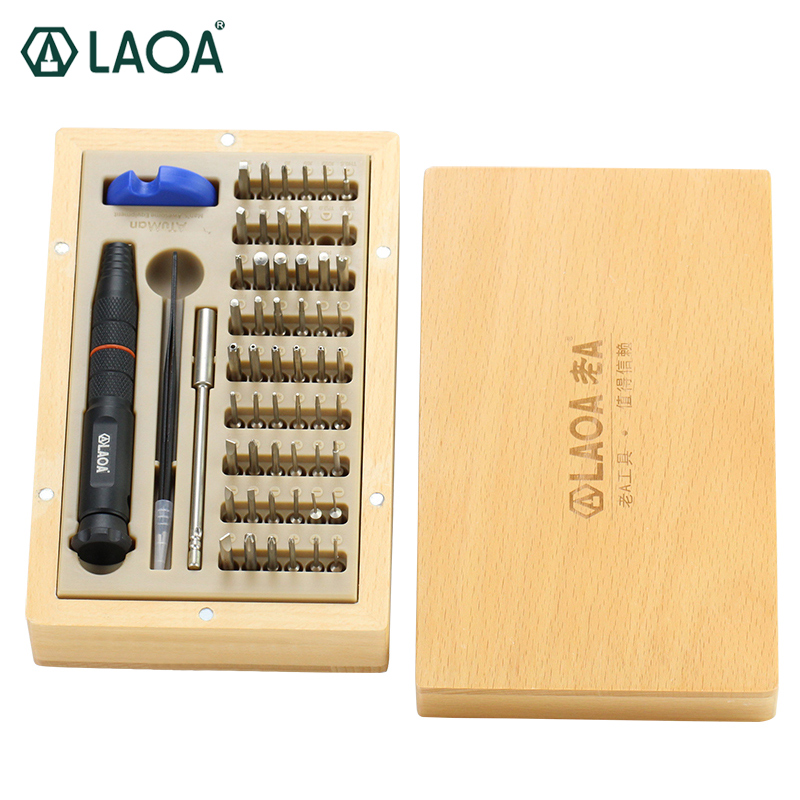 LAOA 58 in 1 Cellphone Repair Set Precise Screwdrivers Set Multifunctional Repair for Iphone Computer Repairing Hand Tools стоимость