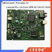 Original 95%new CE938 60001 Formatter Board logic Main Board mother board For HP LaserJet Pro 100 Color MFP M175N/M175NW printer