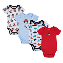 Mother nest Newborn Baby Girls boy 4pcs/lots 100% Cotton