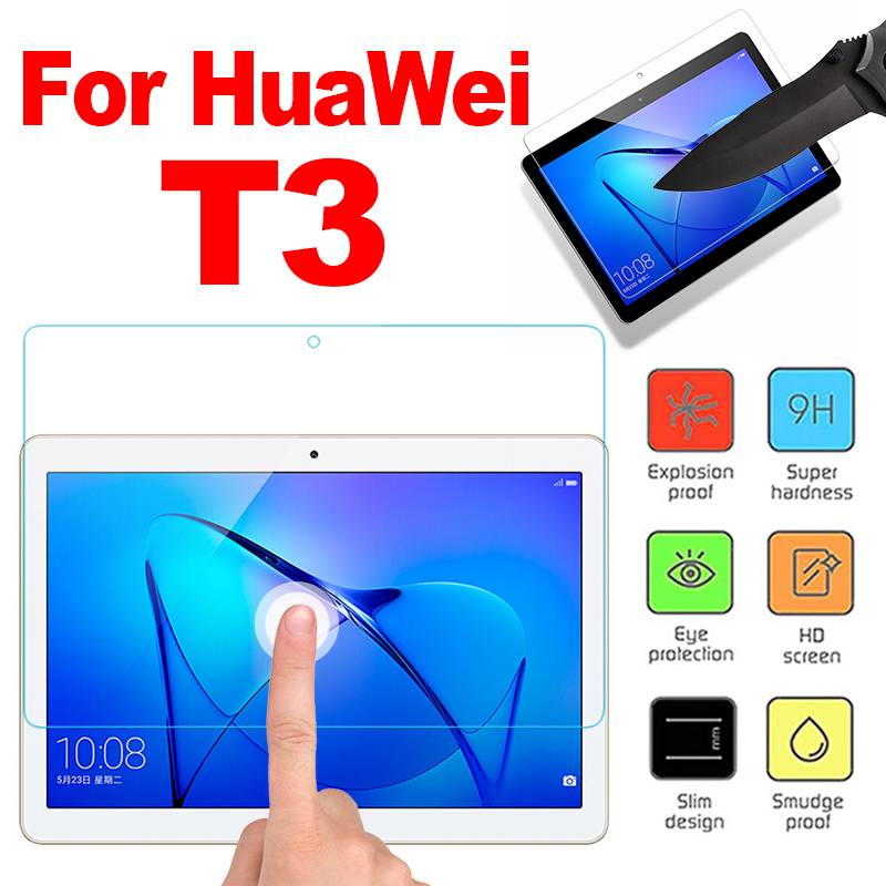 Top quality 9H Tempered Glass For Huawei Mediapad M2 M3 M5 7810 Screen Protector Film For Huawei T3 7 m5 10.1 P20lite glass high quality oleophobic coating 2 5d 0 26mm 9h tempered glass screen protector for iphone 6 4 7
