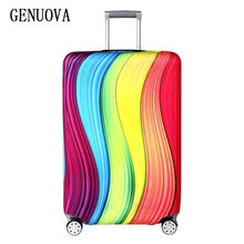 Travel on Road Elastic Fabric Luggage Protective Cover, Suitable18-32 Inch , Trolley Case Suitcase Dust Cover Travel Accessories недорого