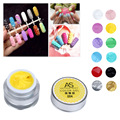 GRACEFUL 3D UV Sculpture Gel Coloured Nail Art Tip Creative Manicure Decoration Nail Gel gel del clavo NOV4