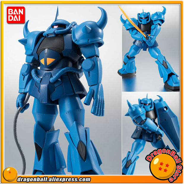 Mobile Suit Gundam Original BANDAI Tamashii Nations Robot Spirits Action Figure No.201 - MS-07B Grouf ver. A.N.I.M.E. image