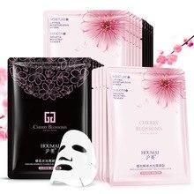 5 шт./лот BIOAQUA маска для лица Silk увлажняющий отбеливания масло-control Black маска для лица лист обернутый маска корейский кожи Уход за лицом
