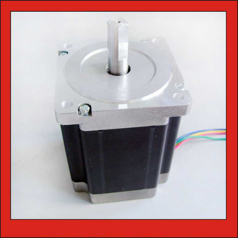 NEMA34 Stepper Motor 6.5N.m (903oz-in) Body Length 98mm CE ROHS CNC Stepping Motor Nema 34NEMA34 Stepper Motor 6.5N.m (903oz-in) Body Length 98mm CE ROHS CNC Stepping Motor Nema 34