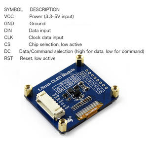 """Image 3 - 1.5 インチ 1.5 """"有機 El 画面表示モジュール 128 × 128 SSD1327 SPI I2C IIC arduino のラズベリーパイ"""