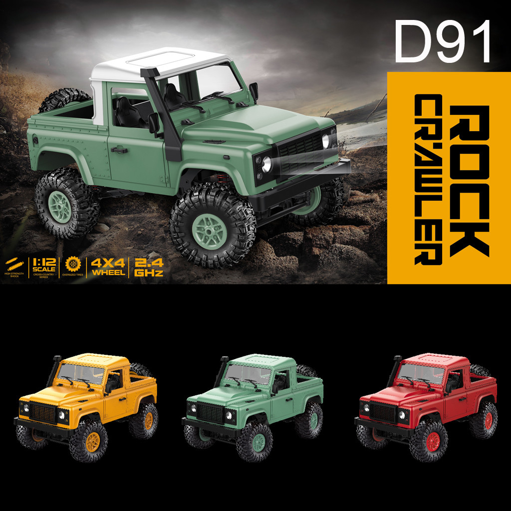 HIINST 19 Fashion Hot LED Light 4WD RC Off road Military Rock Crawler Monster Truck High speed Car Anti Knock Dec13