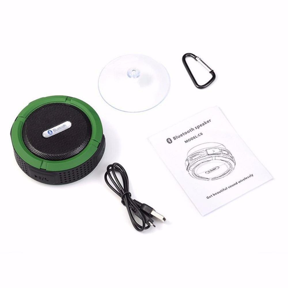 Image 5 - C6 屋外ワイヤレス Bluetooth 4.1 ステレオポータブルスピーカー内蔵マイク衝撃抵抗 IPX4 防水 Louderspeaker    グループ上の 家電製品 からの ポータブルスピーカー の中
