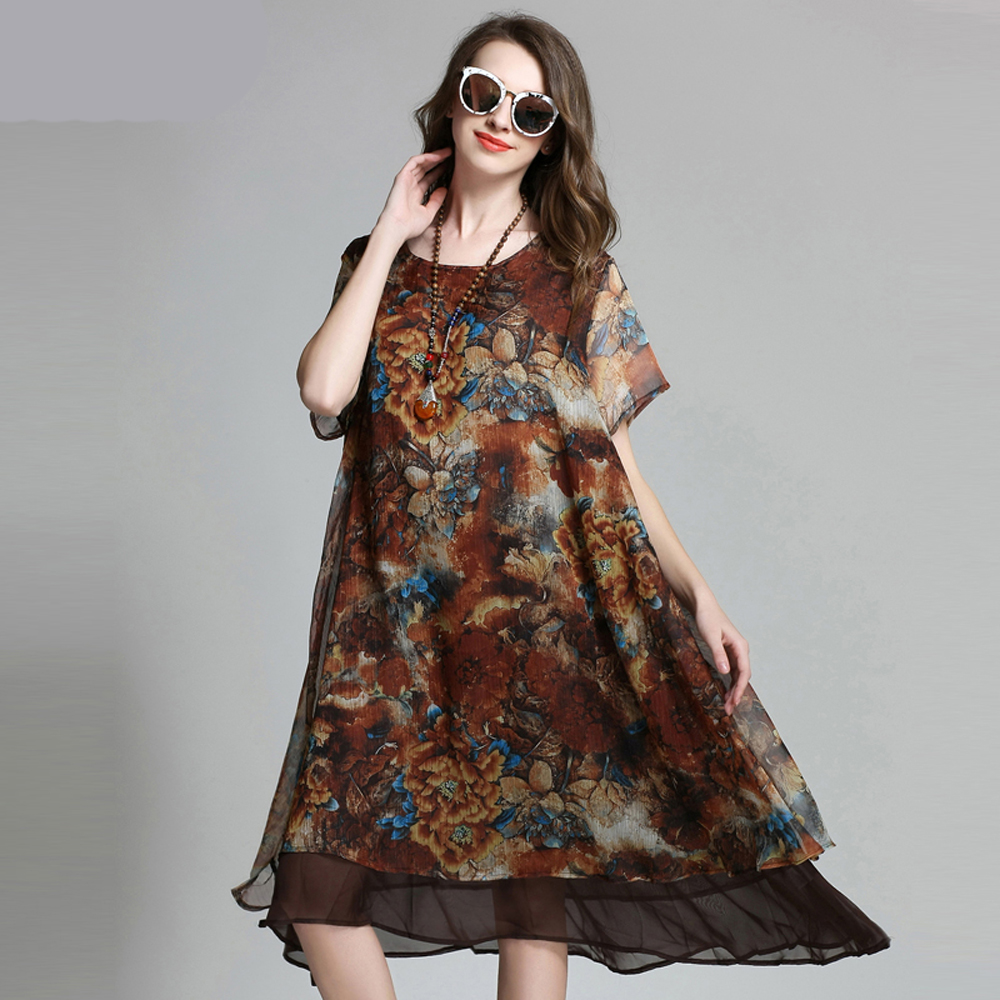Bohemian Large Size Women Clothing