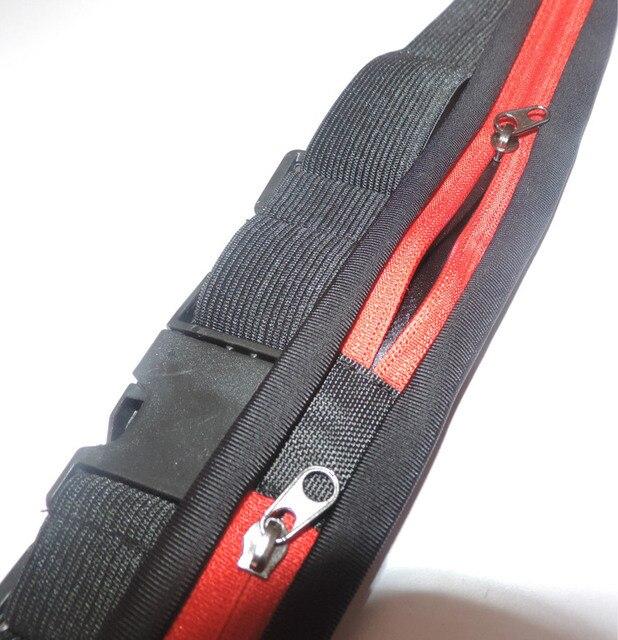 Nylon Waist Pack Men Women Fashion Multifunction Fanny Pack Bum Bags Hip Money Belt Travel For Mobile Phone Bag Unisex 4