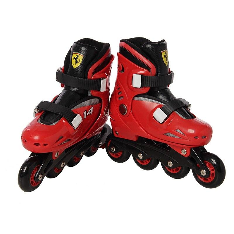 Patins de vitesse en ligne chaussures patins à roulettes de Hockey baskets rouleaux enfants patins à roulettes