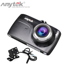 Anytek G67 Volle HD 1080P Novatek 96658 IMX323 Sensor Auto DVR Recorder 170 Grad Dash Kamera Kanzler mit Hinten view Kamera