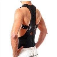 Ортопедический Корсет Корректор осанки Для мужчин Для женщин Магнитный ремень плечо назад Опора коррекция осанки повязка с магнитным замк...