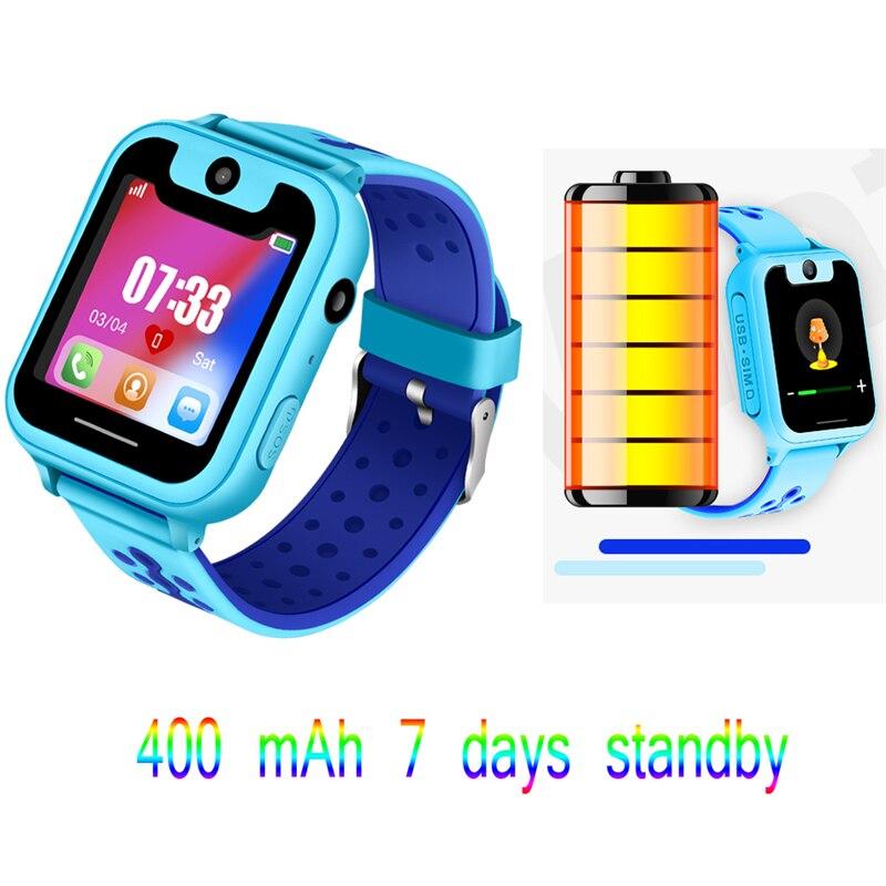 Bangwei2018 neue GPS Praktisch Positionierung Modus Kinder intelligente Uhr 1,54 Zoll Farbe Touchscreen SOS Notfall Handliche Erinnerung