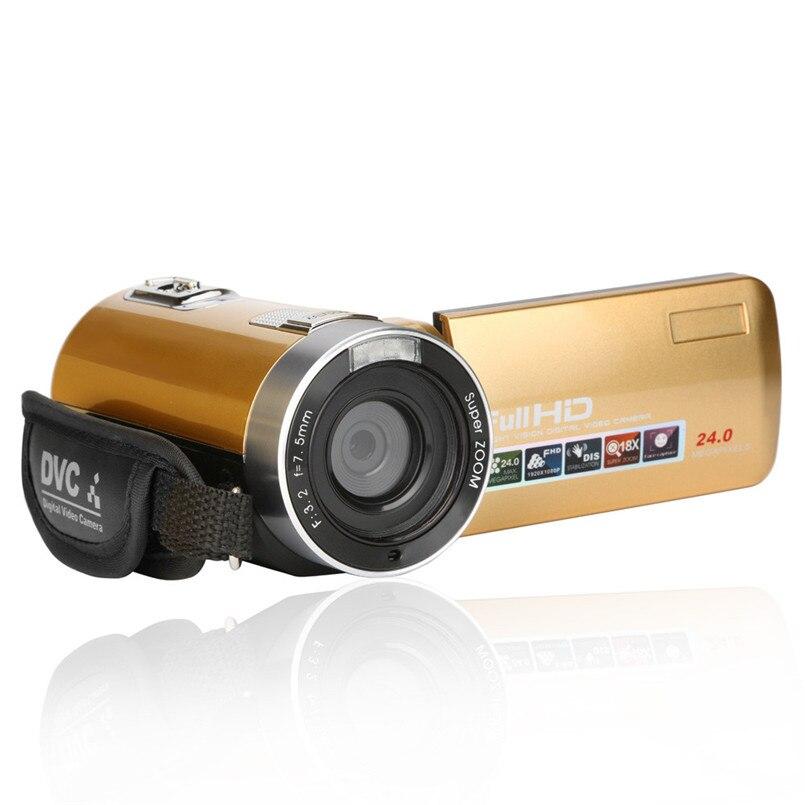 Yimistar #4503 Bike Bicycle Computer Camera  3.0 Inch TFT 24MP 18X Digital Zoom Video Camcorder Camera HD DV