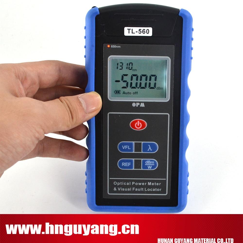 Optique Power Meter Laser TL-560 construit dans 30 mw Visual Fault Locator