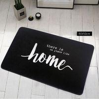 non slip embroidery door carpet Water absorption Nordic Style Entry Door Mats Creative Floor Mats Home Entry Mats rug