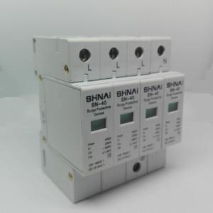 Image 5 - SPD 20KA 40KA 4P surge arrester הגנת מכשיר חשמלי זינוק הבית C ~ 385V AC