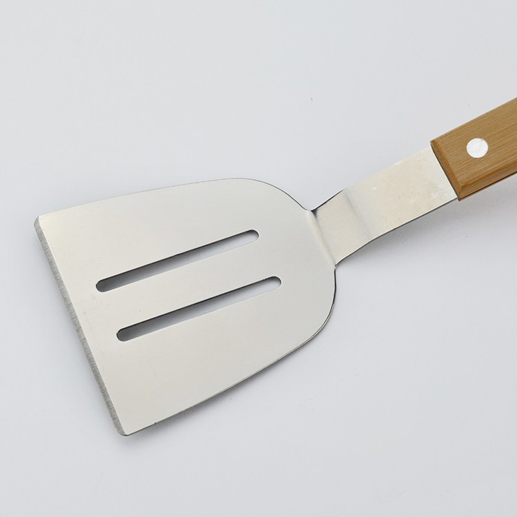 ❤SU/&YU❤Kitchen Tools Pancakes Shovel Home Teppanyaki Fried Steak Shovel Cut Black