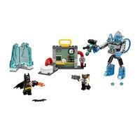 Лепин pogo Бела 10628 Бэтмен мистера Фриза Ice атаки супер героев Marvel Мстители Строительные блоки Кирпич совместимые legoe игрушки