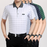Latest Style Striped Casual Men Short Sleeve Cotton Summer T Shirt Summer Stripes T Shirt For