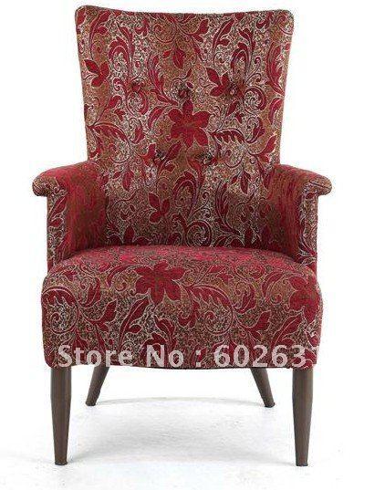 Offre spéciale chaise de sofa en métal d'hôtel LUYISI5060, mousse à haute densité, tissu résistant, 2 pièces/carton, paquet sûr