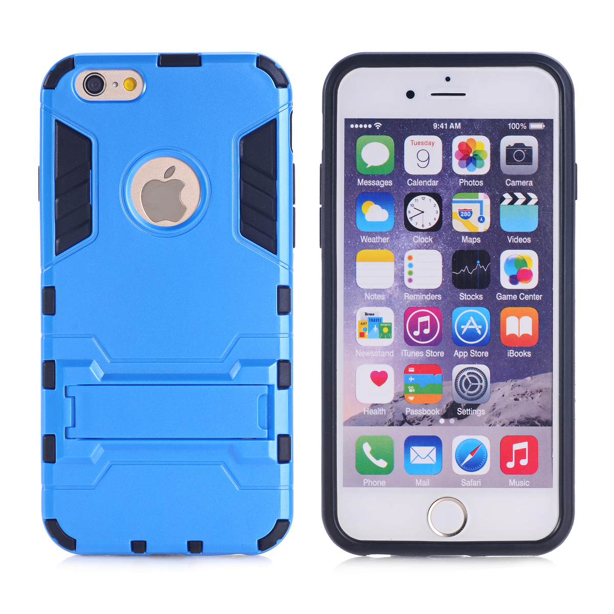 Iphone 5c Heavy Duty Hybrid Hard Soft