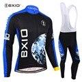 BXIO  комплекты для велоспорта  с длинным рукавом  Джерси  лайкра  спортивная одежда для мужчин  дорожная одежда для верховой езды  Gar  для мужчи...